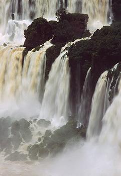Salto Mbiqua at Iguazu Falls, Argentina