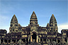 The east side of Angkor Wat