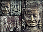 216 faces are carved into the 54 towers of the Bayon at Angkor, Cambodia