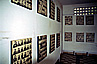 Wall after wall with photos of victims of the Khmer Rouge