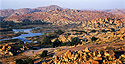 Hampi as seen from Matanga Hill