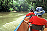 Boat ride on a river like Kinabatangan river