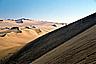 Climbing the sand dunes of Huacachina