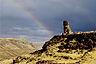 Chullpa (funerary tower) at Sillustani, Peru