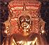 Sukhothai-style Buddhas in Wat Phumin