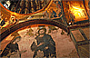 Elaborate mosaics in Kariye Camii in Istanbul, Turkey