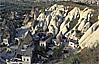 Rock tower houses in Goreme